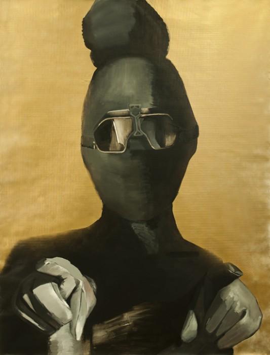 A masky girl